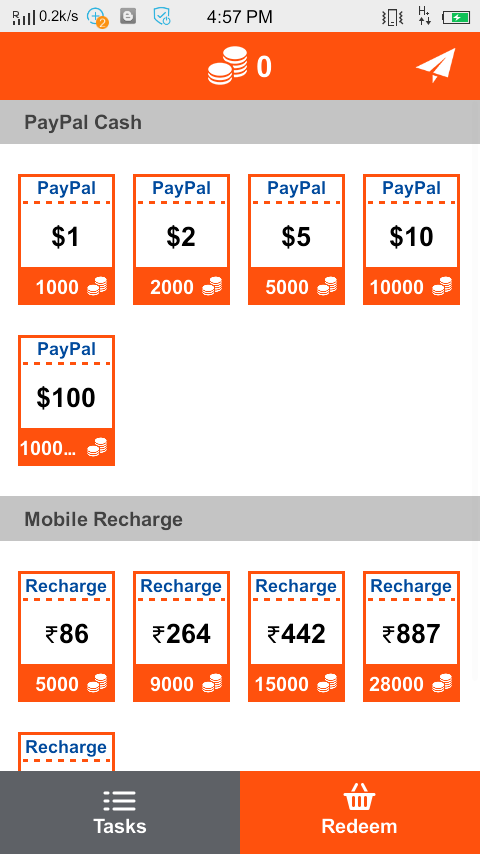 EARN UNLIMITED PAYPAL MONEY OR FREE RECHARGE FROM QUICKCASH